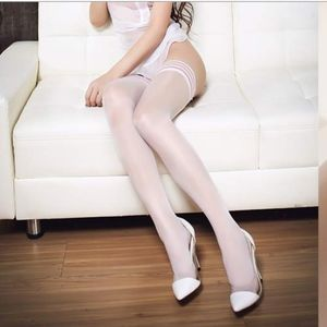 Shiny Sheer Glossy Thigh High Stocking 20DEN
